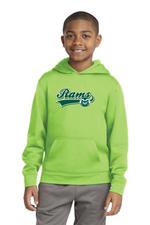 CSU Kids Shock Lime Hoodie